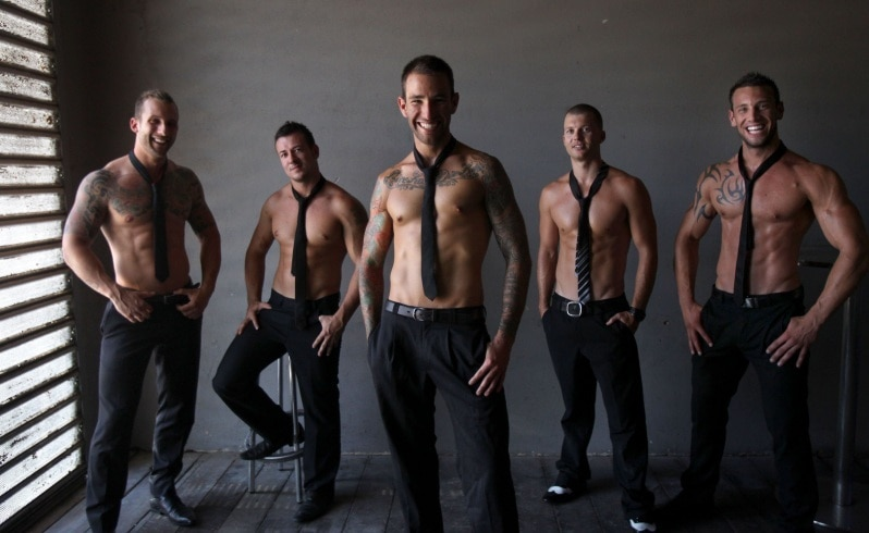 Male strippers in Perth