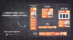 HTML5 Banner Design